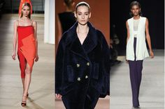 Find out how to wear every fashion capital's top Fall 2015 trends. // Prabal Gurung, Victoria Beckham and Narciso Rodriguez