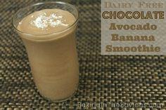 Dairy Free Chocolate, Avocado,