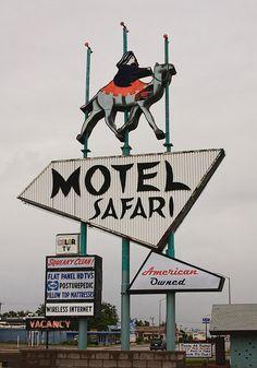 Route 66 Tucumcari Motel Safari - do more research on this one