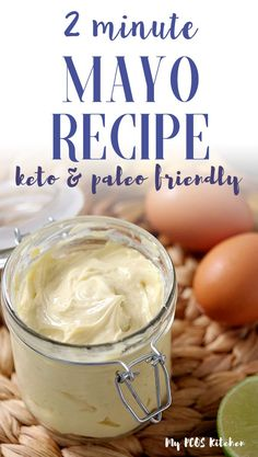 Homemade mayo ready in less than 2 minutes, this easy mayonnaise recipe is so simple and delicious! Made with avocado oil, this healthy mayonnaise recipe is the perfect paleo and whole30 mayo recipe you'll make! #paleomayo #ketomayo #homemademayonnaiserecipe #mypcoskitchen Avocado Mayo Recipe, Healthy Mayonnaise, Avocado Oil Mayonnaise Recipe, Mayonaise Recipe, How To Make Mayonnaise, Keto Avocado, Whole 30 Mayonnaise Recipe, Mayo Recipe Blender, Low Calorie Mayonnaise Recipe