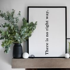 'The Right Way' - a typographical, monochrome fine art print by our very talented friends at SOOuK. Giclee printed on fine art paper. Available in 2 sizes: 30 x and 50 x Kitchen Prints, Kitchen Art, Buy Kitchen, Kitchen Tools, Kitchen Ideas, Simple Prints, Wire Art, Fine Art Paper, Monochrome