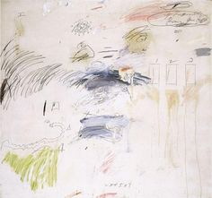 Untitled, Rome - Cy Twombly 1960