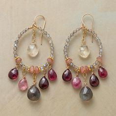 Thoi Vo | Mystery Rose Earrings