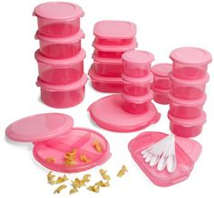 Superseal Piece Food Saver Set, Pretty Pink #pink