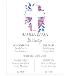 Printed or digital rnrnSource by Baptism Party Decorations, Baby Event, Baby Dino, Christening Invitations, Baby Christening, Ideas Para Fiestas, Baby Party, Communion, Invitation Cards