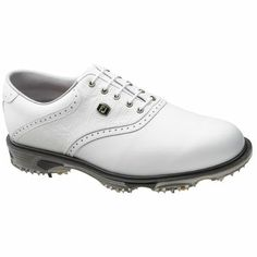 FootJoy DryJoy Tour Men's Golf Shoe  In brown and white!