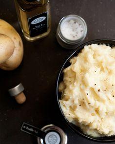 Black Truffle Mashed Potatoes Recipe
