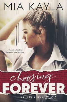 Release Blitz / GIVEAWAY - Choosing Forever (Torn Duet #2) by Mia Kayla @authormiakayla   Choosing Forever (Torn Duet #2) by Mia Kayla  Cover Design: Perfect Pear Creative Covers  Release Date: February 13 2017   Synopsis  Life is made up of choices. Single choices like bricks laid out in a path. A path that leads to your future. At twenty four years old I would have never guessed I would be stuck between two mentwo men from opposite spectrums of the universe. Their lives their worlds their…