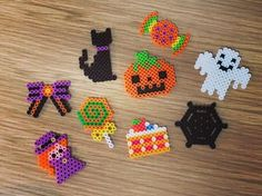Halloween perler beads by perlerbeads_jp