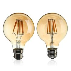 4.88$  Buy here - http://ali7mz.shopchina.info/go.php?t=32787680455 - Vintage LED Light Bulb Edison Bulb E27 B22 G80 Dimmable 6W Retro Globe Light Lamp Filament Bulb 220V for Home Bar Decor Lighting 4.88$ #magazineonlinewebsite