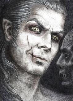 Fenrir Greyback by satanaya