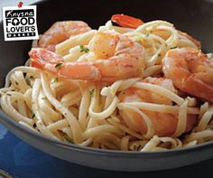 A generous amount of black pepper brings some welcome heat to this pasta dish.View Recipe: Linguine with Peppery Shrimp Gf Recipes, Dairy Free Recipes, Shrimp Recipes, Pasta Recipes, Dinner Recipes, Healthy Recipes, Healthy Meals, Recipies, Gluten Free Pasta