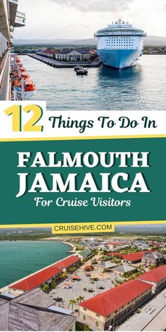 How about a cruise vacation to Falmouth, Jamaica? Here are 12 things to do at the Caribbean destination including tips and shore excursions. Falmouth Jamaica, Jamaica Cruise, Jamaica Vacation, Jamaica Travel, Cruise Travel, Cruise Vacation, Cruise Tips, Shopping Travel, Beach Travel