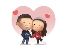 text messages for her Commissions Commissions - HJ-Story Cartoon Love Quotes, Cute Cartoon Images, Cute Love Cartoons, Cute Love Stories, Love Story, Love Anniversary Quotes, Hj History, Dating Sim Game, Animated Love Images