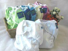 Kawaii Happy Leak-Free One Size Diaper Cover. Choose Snap or Aplix closure. $4.90 each