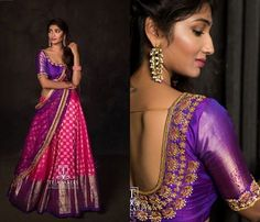 Sarees blue silk half saree pristine art silk half n saree half saree blouse designs silk half saree designs dressing pristine art silk half n saree Your Official To Find … Lehenga Saree Design, Half Saree Lehenga, Lehenga Designs, Saree Dress, Bridal Lehenga, Banarasi Lehenga, Kids Lehenga, Sari Blouse, Sabyasachi