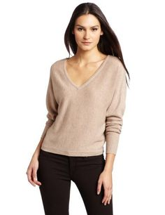 BCBGMAXAZRIA Women's Wyatt V-Neck Dolman Sweater, Heather Pumice, Small BCBGMAXAZRIA, http://www.amazon.com/dp/B0058BS3G4/ref=cm_sw_r_pi_dp_mM9iqb1N687D4