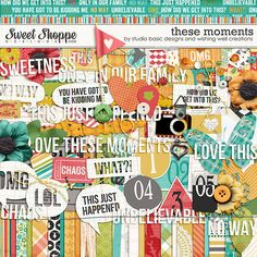 Sweet Shoppe Designs::NEW Releases::New Releases - 9/28::These Moments Kit by Studio Basic and Wishing Well Creations