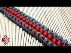 "How You Can Tie A ""Bootlace Paracord Survival Bracelet"" Without Buckle - YouTube"