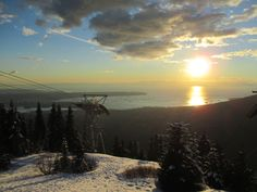 North Vancouver, Grouse mountain, February 2014