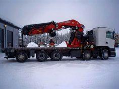Scania. Zwaar autokraan Fassi  F2150.
