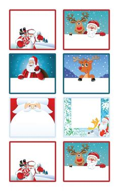 Christmas tags to print for gifts to give - Christmas Tags To Print, Christmas Names, Christmas Gift Tags Printable, Christmas Printables, Kids Christmas, Handmade Christmas, Mery Chrismas, Xmas Drawing, Grinch Christmas Decorations