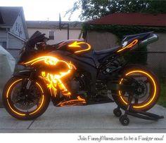 Dream motorcycle...
