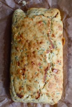 Cheese, Chive and Bacon Bread