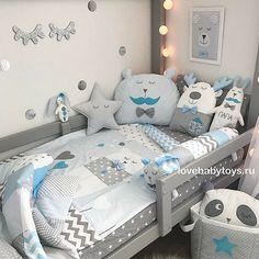 27 ideeën baby boy room organisatie - Apocalypse Now And Then Boy Toddler Bedroom, Toddler Rooms, Baby Bedroom, Baby Boy Rooms, Baby Room Decor, Baby Cribs, Nursery Room, Kids Bedroom, Deco Kids