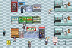 Supermarket Game Assets by minhmingx