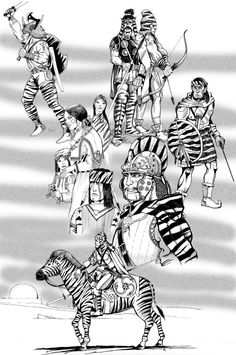 Zebra People by Scravagghiupilusu959.deviantart.com on @DeviantArt
