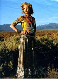 With fabulous flair: Millicent Rogers. She helped put New Mexico on the artistic map!