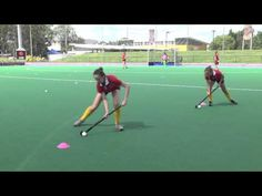 Just Hockey Skill Up - Sharyn Simpson - passing warm ups - YouTube