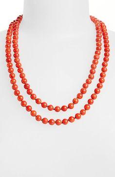 Nordstrom Long Semiprecious Necklace | Nordstrom