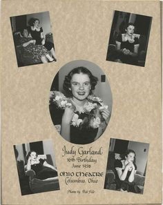 Wizard Of Oz 1939, Judy Garland, 16th Birthday, Vintage Ads, Actors, Models, People, Beauty, Templates