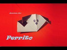 Origami - Papiroflexia. Perrito de origami muy fácil