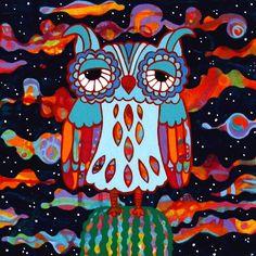 The Night Owl Painting | Robin Westenhiser