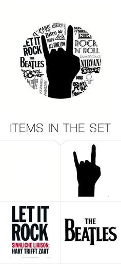 """Rock On!"" by metalhippieprincess ❤ liked on Polyvore featuring art"