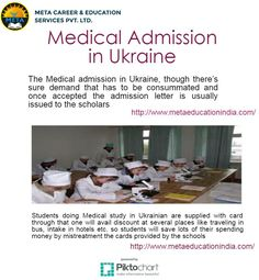 Medical Admission in Ukraine, though there's sure demand that has to be consummated and once accepted the admission letter is usually issued to the scholars. Than later the scholars should submit the desired documents at the side of a fee for asking latter.