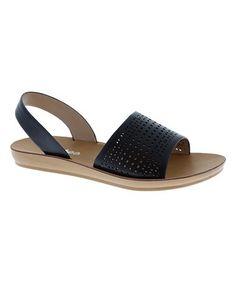 a30471202f79 Love this Black Nora Slingback Sandal on  zulily!  zulilyfinds Slingback  Sandal