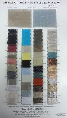 headboard fabric -- Medium Weight Metallic Linen ( http://www.mcssl.com/store/gray-lines-linen-inc/metallic-linen/medium-weight-metallic-linen )