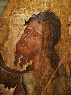 John The Baptist, Byzantine, Fresco, Mystic, Mona Lisa, Saints, History, Artwork, Saint John