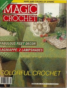 Crochet Patterns And Projects Book : ... crochet crochet no82 books magic crochet crochet magazine crochet