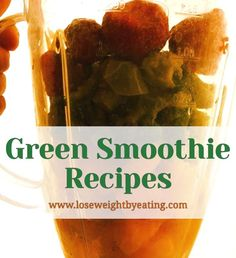 Lose weight and feel great with Green Smoothie Recipes for Beginners. These healthy smoothies taste great and are an easy way to get your veggies fast!