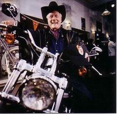 R.I.P. Larry Hagman  Rollin with the Ugly MC's ...   Wonderful motorcyclist who LOVED Harley Davidson motorcycles and contributed to many motorcycle charities.  Thank you for sharing your talent and love of motorcycles with us.