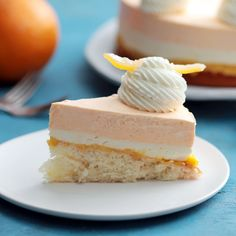Orange Creamsicle Cake ~ this orange cream cake has a casual vibe that makes it perfect summer gatherings, potlucks, family birthdays, and everyday meals. No Bake Desserts, Just Desserts, Delicious Desserts, Yummy Food, Unique Desserts, Easter Desserts, Summer Desserts, Creamsicle Cake, Orange Creamsicle