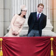6/5/2012: Diamond Jubilee balcony appearance, with Prince Harry (Westminster, London)