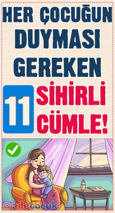 Her çocuğun duyması gereken 11 sihirli cümle! Work From Home Moms, Childcare, Mom And Dad, Kids And Parenting, Montessori, How To Make Money, Quotations, Dads, Kid Games