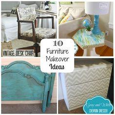 10 DIY furniture makeover ideas