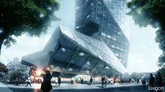 [A3N] : Tower – Shenzhen, ( China) / Morphosis